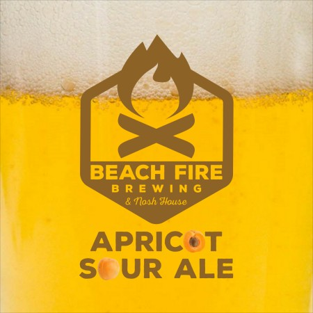 Beach Fire Brewing Apricot Sour Ale Now Available