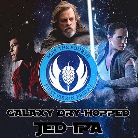 Bushwakker Brewing Releasing Galaxy Dry-Hopped JED-IPA for Star Wars Day and Fan Expo Regina