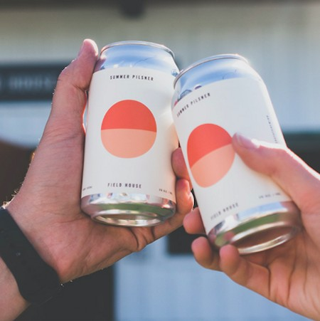 Field House Brewing Releases Summer Pilsner in Cans