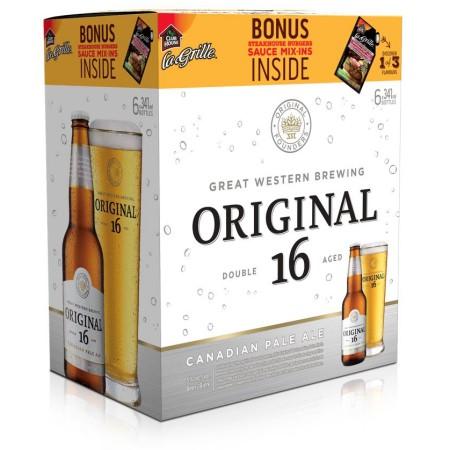 Great Western Brewing & McCormick Partner on Original 16 In-Pack Bonus
