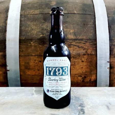 Muddy York Brewing Releasing Sherry Barrel-Aged Edition of 1793 Barley Wine