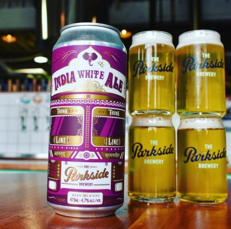 Parkside Brewery and Vij's Restaurant Release Trunk Line India White Ale