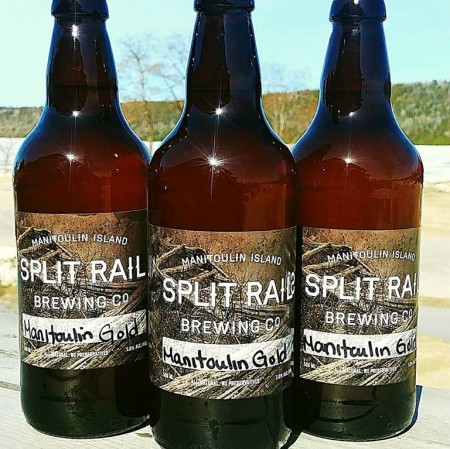 Split Rail Brewery Releases Manitoulin Gold Lager