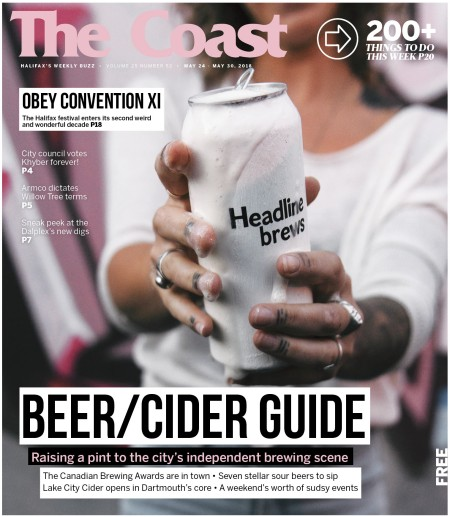 The Coast Beer Guide Issue for 2018 Out This Week