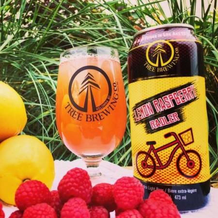 Tree Brewing Releases Lemon Raspberry Radler