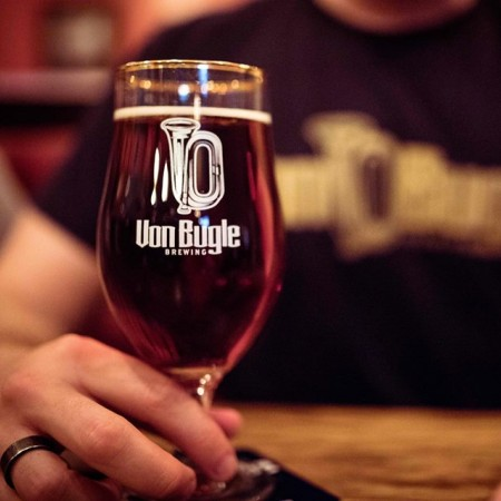 Steam Whistle Brewing Drops Von Bugle Munich Lager Brand and Taproom