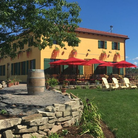Bent Ridge Winery & Bent Nail Brewery Opening This Weekend Near Windsor, Nova Scotia