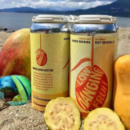 Bomber Brewing and Riot Brewing Release Low Hanging Fruit ISA