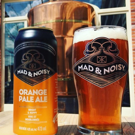 Creemore Springs Brewing Releases Mad & Noisy Orange Pale Ale