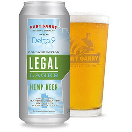 Delta 9 Cannabis and Fort Garry Brewing Release Legal Lager