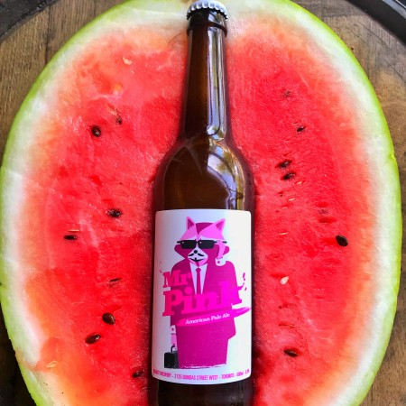 Bandit Brewery Releases Watermelon Hibiscus Version of Mr. Pink