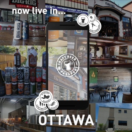 Craft Beer Passport Launches in Ottawa
