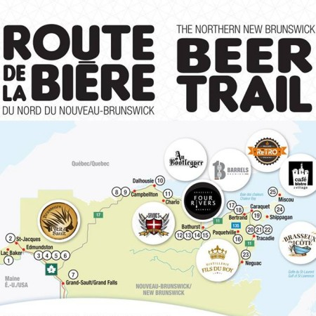 Northern New Brunswick Beer Trail Officially Launches