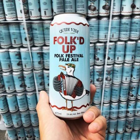 Quidi Vidi Brewing Releases Folk'd Up Pale Ale for Newfoundland & Labrador Folk Festival