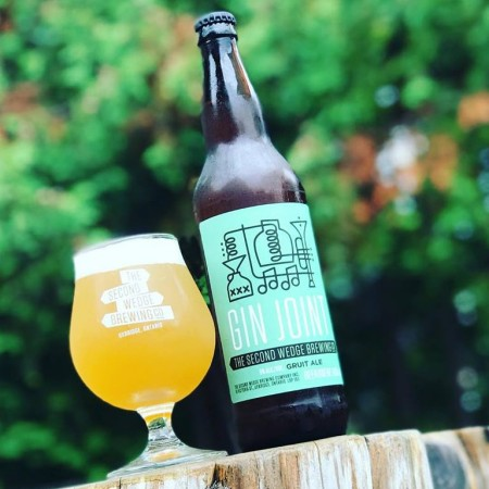 The Second Wedge Brewing Releases Gin Joint Gruit