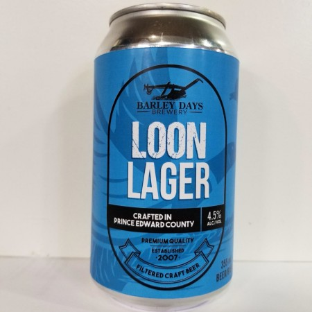 """Barley Days Brewery Confirms Release of Loon Lager for """"Buck-a-Beer"""" Promotion"""