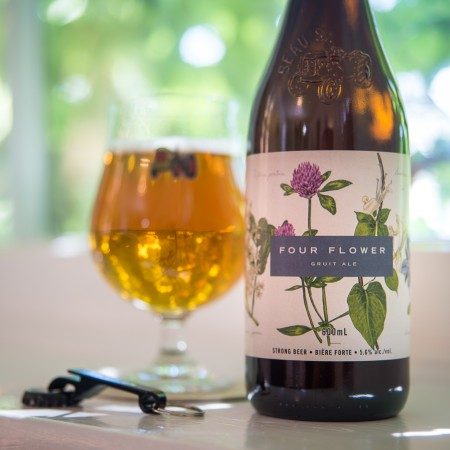 Beau's Brewing Seasonal Gruit Series Continues with Four Flower