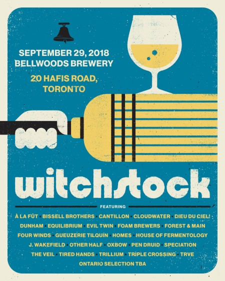 Bellwoods Brewery Announces Witchstock 2018 Details & August Release Schedule