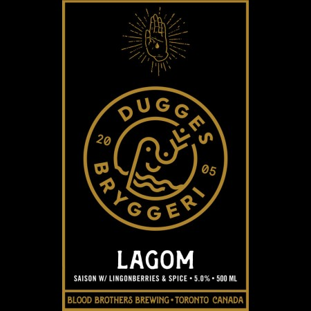 Blood Brothers Brewing Releases Collaboration With Sweden's Dugges Bryggeri