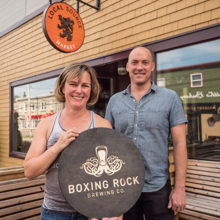 Boxing Rock Brewing Opens Pilot Brewery & Bottle Shop at Local Source Market in Halifax