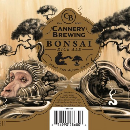 Cannery Brewing Limited Edition Can Series Continues with Bonsai Rice Ale