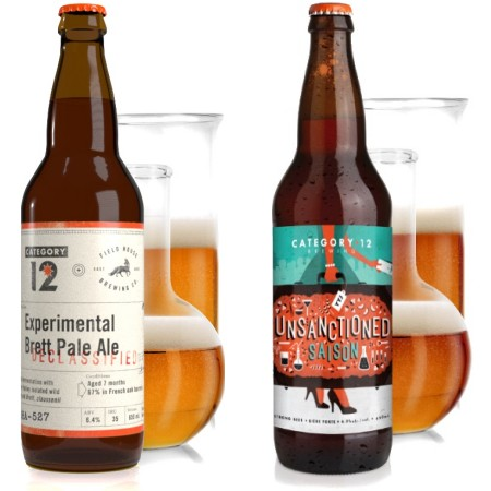 Category 12 Brewing Releases Collab with Field House Brewing & Brings Back Unsanctioned Saison