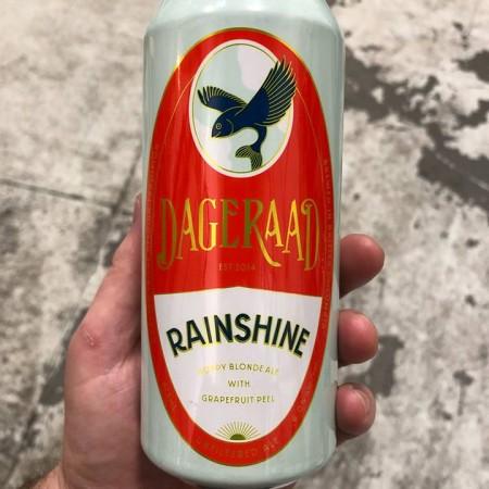 Dageraad Brewing Releases Rainshine Hoppy Blonde Ale