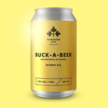 Dominion City Brewing Releasing Buck-a-Beer (For Refugees in Ottawa)