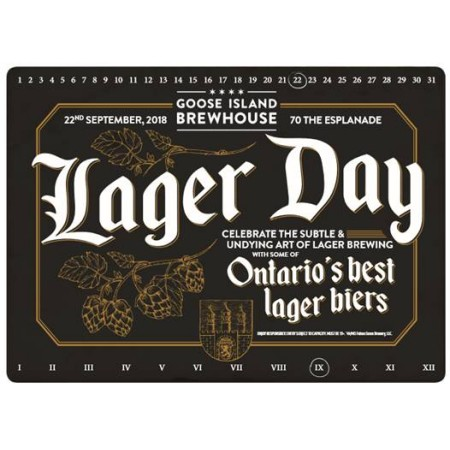Goose Island Brewhouse Toronto Hosting Lager Day Event Next Month