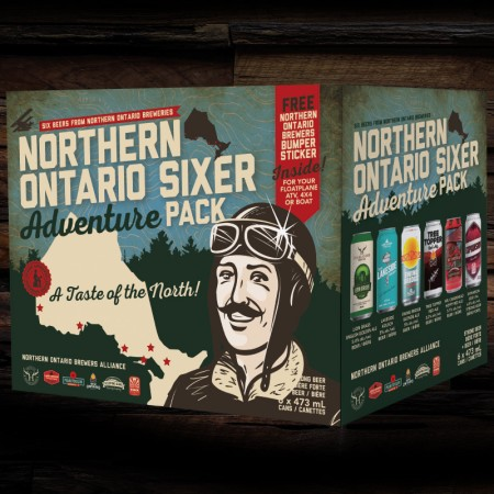 Northern Ontario Brewers Alliance Releases Second Edition of Mixed Six Pack