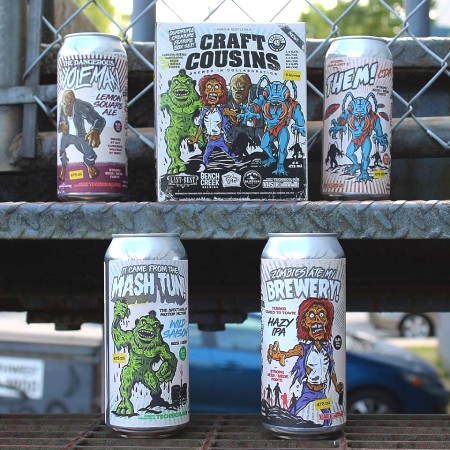 Parallel 49 Brewing & Four Alberta Breweries Release Craft Cousins Collaboration Pack