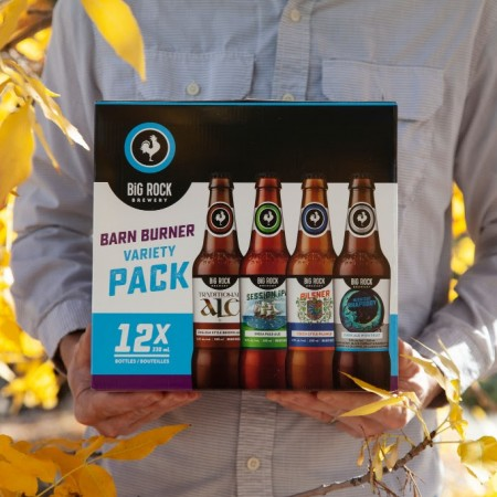 Big Rock Brewery Releases 2018 Edition of Barn Burner Variety Pack