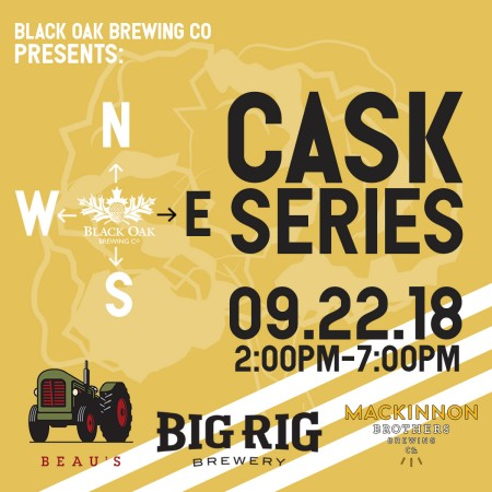 Black Oak Brewing Announces Details of N.S.E.W. Cask Series East Edition