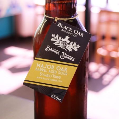 Black Oak Brewing Launches Barrel Series With Major Oak Sour