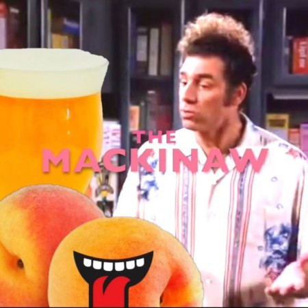 Electric Bicycle Brewing Releases The Mackinaw Hazy Peach Rested IPA