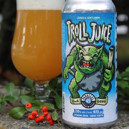 Parallel 49 Brewing Releases Troll Juice Kveik DIPA