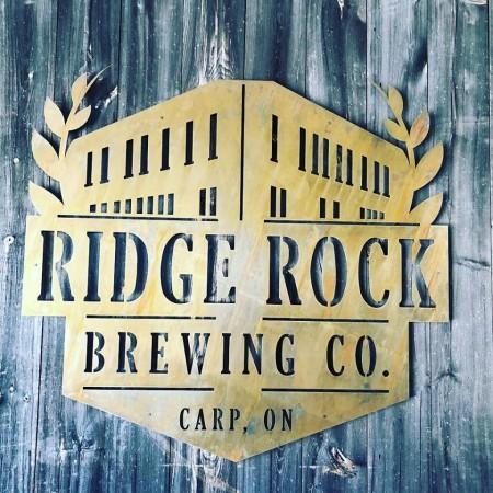 Ridge Rock Brewing Opening This Week in Carp, Ontario