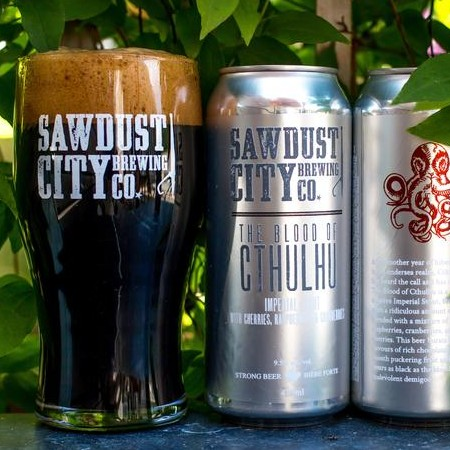 Sawdust City Brewing Announces the Return of The Blood of Cthulhu