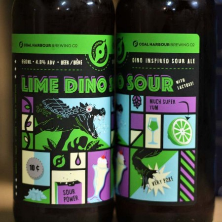 Coal Harbour Brewing Sour Series Continues with Lime Dino Sour