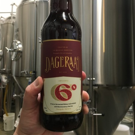 Dageraad Brewing Releases 6° Abbey-Style Dubbel