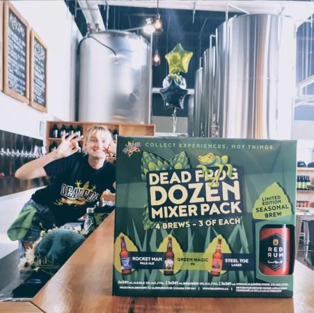 Dead Frog Brewery Releases 2018-19 Edition of Dead Frog Dozen Winter Mixer