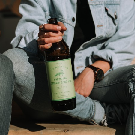 Field House Brewing Releases 2018 Edition of Fresh Hop Satori Sour IPA