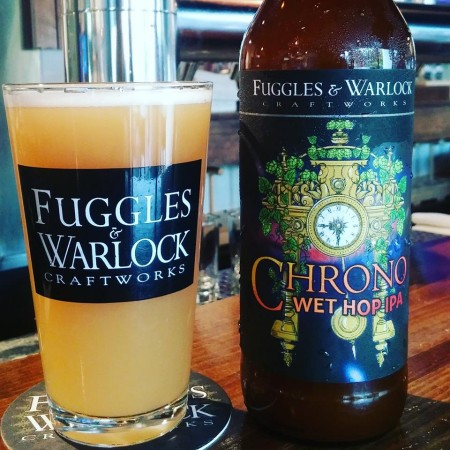 Fuggles & Warlock Releases 2018 Edition of Chrono Wet Hop IPA