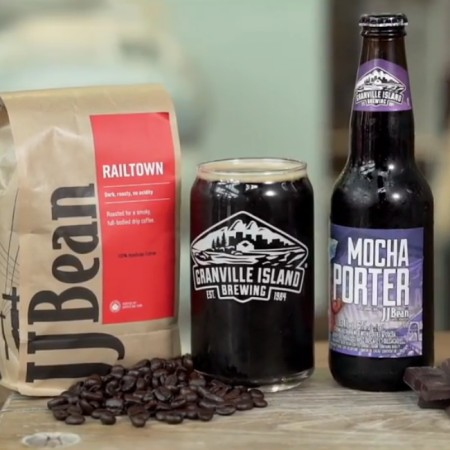 Granville Island Brewing Promotes Mocha Porter from Small Batch to Seasonal