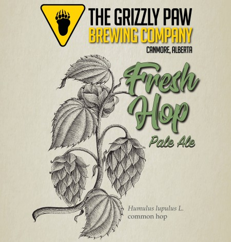 Grizzly Paw Brewing Releases Fresh Hop Pale Ale