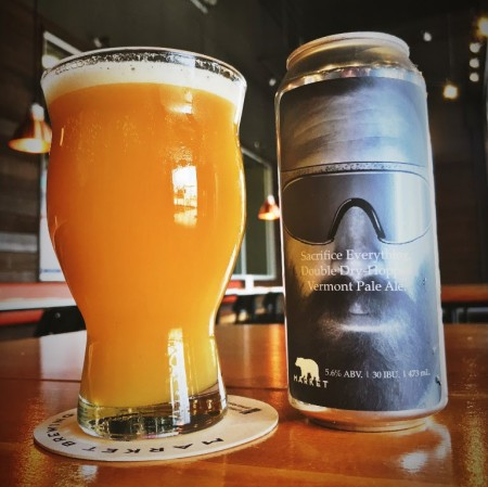 Market Brewing Releases Sacrifice Everything Vermont Pale Ale