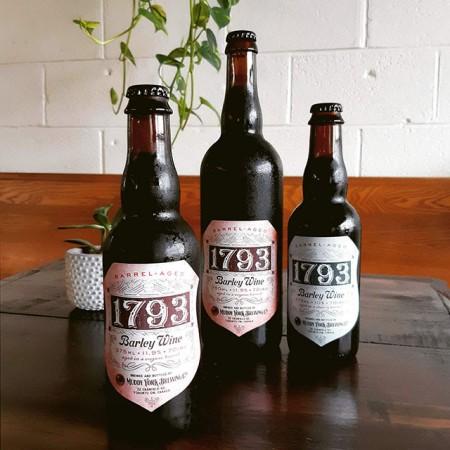 Muddy York Brewing Releasing Sherry & Congac Barrel Editions of 1793 Barley Wine