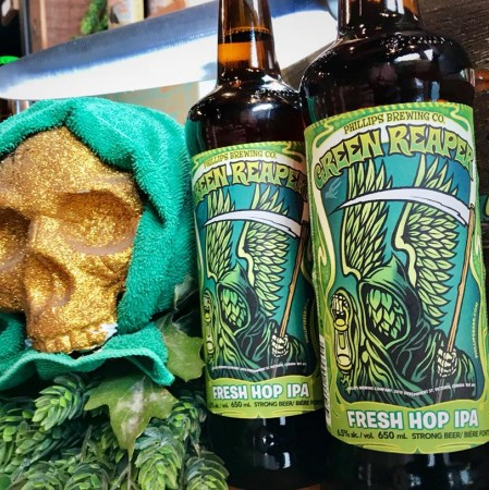 Phillips Brewing Releases 2018 Edition of Green Reaper IPA