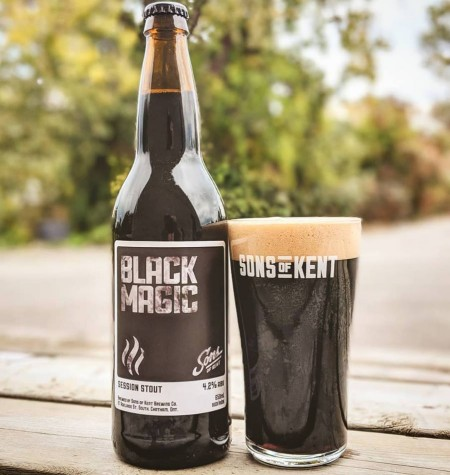 Sons of Kent Brewing Brings Back Black Magic Session Stout