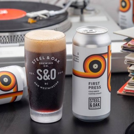 Steel & Oak Brewing and Timbertrain Coffee Roasters Releasing Collaboration for Analog Vinyl Fair